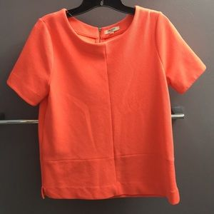 Madewell neon pink top